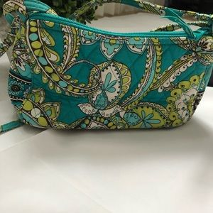 Vera Bradley small purse. Cross body strap purse